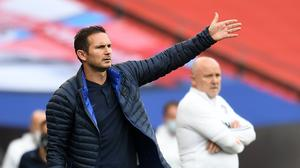 Frank Lampard, left, has led Chelsea to the FA Cup final and is continuing to reshape the Blues' squad for next season (Andy Rain/NMC Pool)