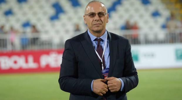 Kosovo federation president Agim Ademi says relations between his country and England are strong (FFK/Handout)