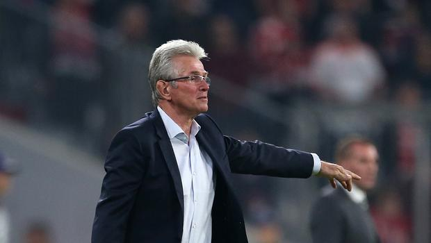 Jupp Heynckes saw his side come from behind