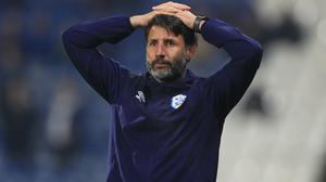 Huddersfield have sacked Danny Cowley (Mike Egerton/PA)