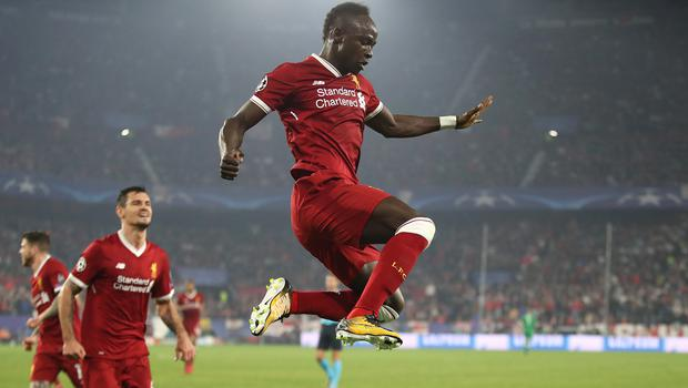Liverpool's Sadio Mane never dreamed he would play in a Champions League final