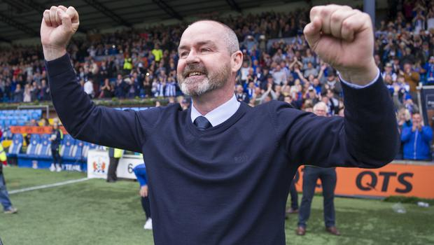 Steve Clarke led Kilmarnock into Europe (Ian Rutherford/PA)