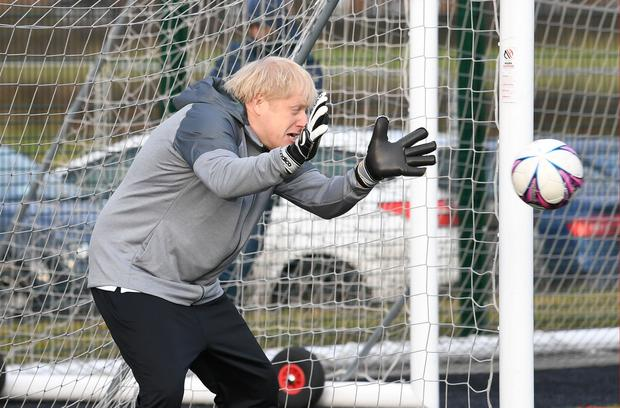 Prime Minister Boris Johnson has backed a home nations bid for the World Cup in 2030 (Stefan Rousseau/PA)