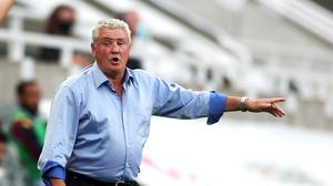 """Steve Bruce considers himself """"lucky"""" to be Newcastle's head coach (Lee Smith/NMC Pool/PA)"""