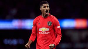 Manchester United and England striker Marcus Rashford successfully lobbied the Government into a U-turn over its free school meals policy during lockdown (Mike Egerton/PA)