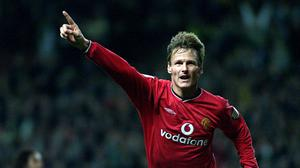 Teddy Sheringham enjoyed one of his finest seasons in the 2000/01 campaign (Martin Rickett/PA)