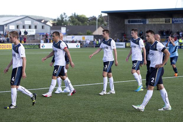 Rangers were beaten in the Scottish League Cup that season by Forfar (PA)