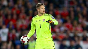 Wayne Hennessey was in impressive form as Wales held Mexico to a goalless draw in Pasadena. (Nigel French/PA)