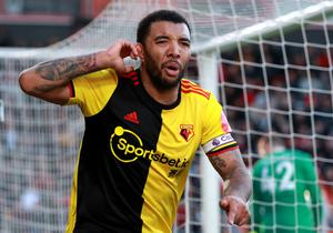 Watford captain Troy Deeney is fit and ready to feature against Leicester. (Adam Davy/PA)