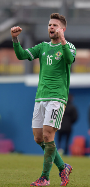 Date with destiny: Oliver Norwood can't wait to take on Greece in the crunch clash at Windsor Park