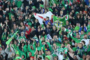 Huge support: NI fans will travel in thousands to France