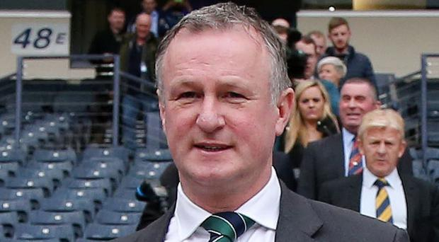 Show me: Northern Ireland manager Michael O'Neill