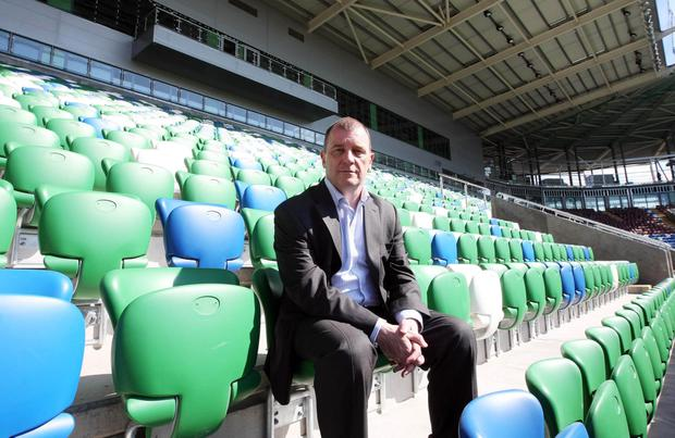 One for the future: IFA chief Patrick Nelson maintains it will become obvious what went wrong with the Kop in due course