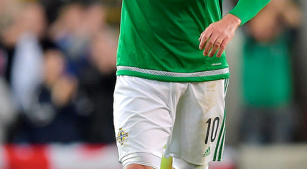 Star man: Kyle Lafferty has gone from zero to hero with Northern Ireland