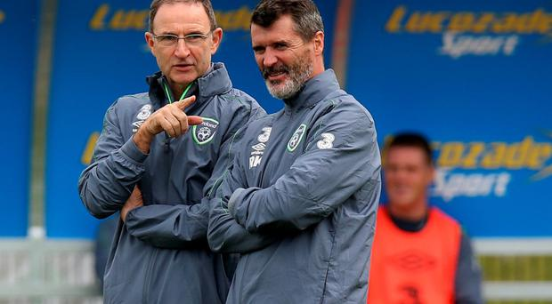 Tough task: Martin O'Neill's side faces two hard fixtures