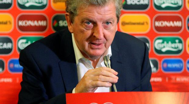 Way off: Roy Hodgson has disputed Jamie Carragher's claims