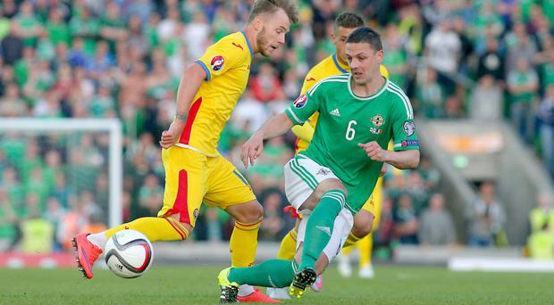 Long time coming: It has taken Chris Baird 75 caps to reach the finals of a major tournament