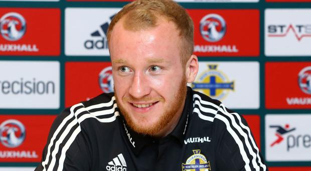 Target: Liam Boyce is itching to net an international goal