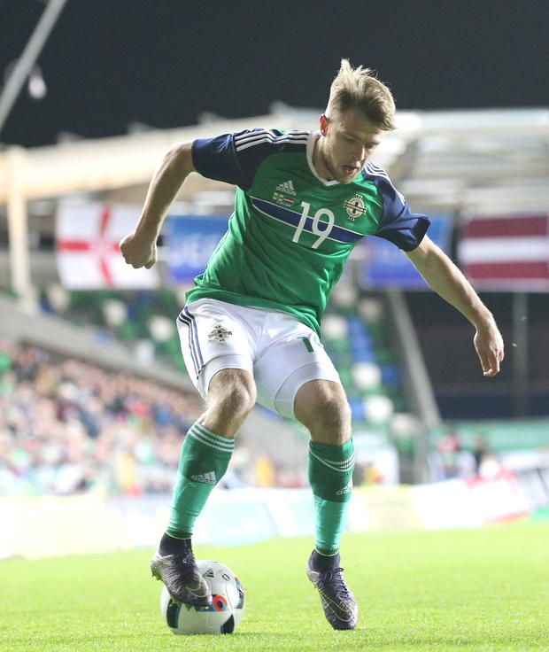 Keep it going: Jamie Ward plans to stay on front foot