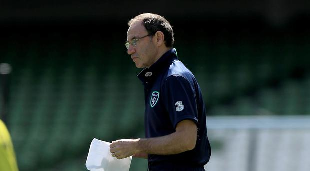 Decisions to make: Republic of Ireland boss Martin O'Neill is giving his men a fair chance to impress as the deadline for naming his Euros squad looms