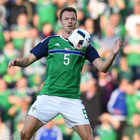 New high: Jonny Evans is currently experiencing the good times of a rollercoaster ride during his time as a Northern Ireland international