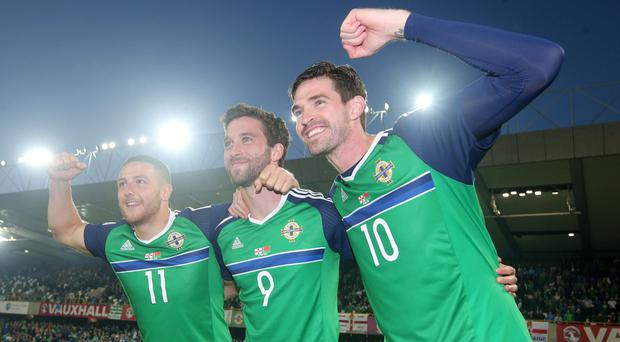 Magic numbers: NI stars Conor Washington, Will Grigg and Kyle Lafferty