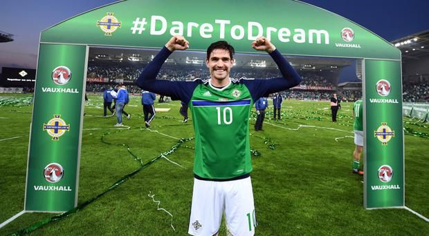 Northern Ireland talisman Kyle Lafferty