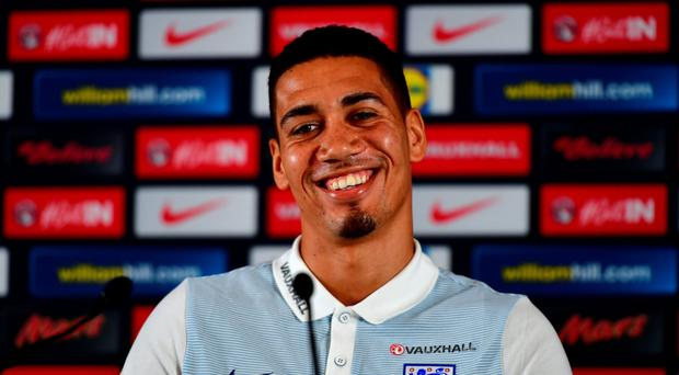 England defender Chris Smalling