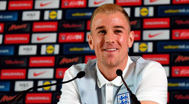 Time is now: Joe Hart tells his press conference what's gone is gone, this is England's chance on the big stage