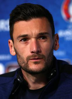 France goalkeeper Hugo Lloris