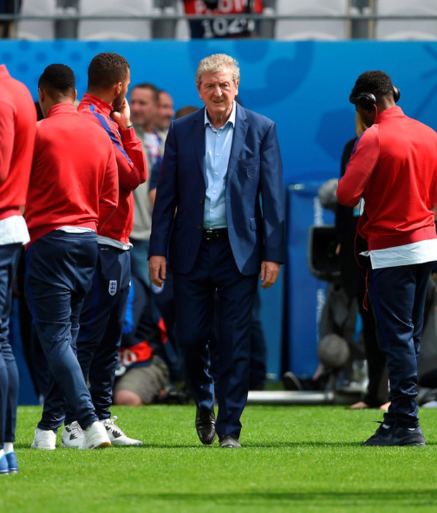 Roy Hodgson expects his players to do their talking on the pitch this afternoon