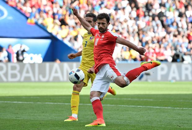 Technique: Admir Mehmedi blasts Switzerland level