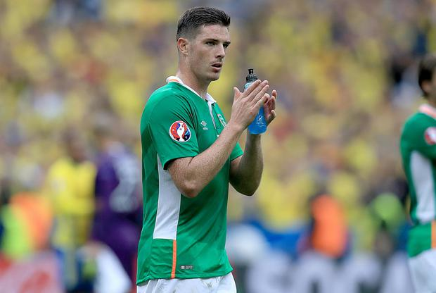 Republic of Ireland defender Ciaran Clark