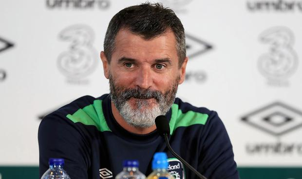 Ireland assistant manager Roy Keane