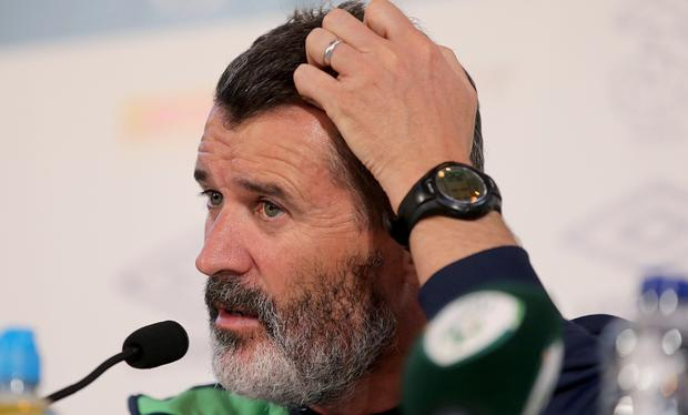 Run, run, run: Roy Keane says the players can leave nothing on the pitch if the Republic are to reach the Round of 16
