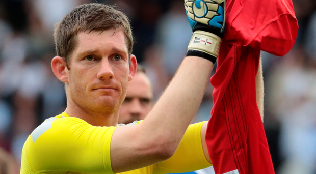 Top class: Michael McGovern showed in front of a TV audience of millions just how good a goalkeeper he has become