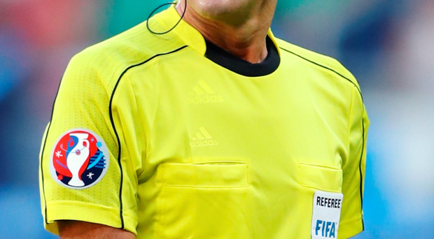 Man in the middle: Atkinson will referee Saturday's last-16 tie