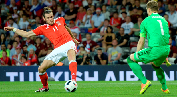 Watch out: Wales' star man Gareth Bale is the man Northern Ireland must keep quiet