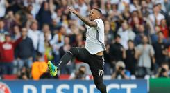 Clean sheet: Jerome Boateng and his team-mates have yet to concede