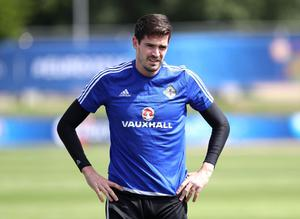 "Saturday, June 11. All eyes were on Kyle Lafferty at training yesterday to see if he really was fit enough to play against Poland tomorrow. No problem there. After injury worries earlier in the week all was fine. He even pretended he was a horse at one stage. ""That's Kyle. He keeps us entertained,"" said team-mate Gareth McAuley. Here's to a thoroughbred display against the Poles."