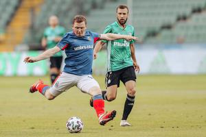 Linfield and striker Shayne Lavery will take on another team in green in the Europa League second qualifying round, Floriana