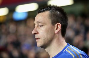 LONDON, ENGLAND - FEBRUARY 21: John Terry of Chelsea walks out during the UEFA Europa League Round of 32 second leg match between Chelsea and Sparta Praha at Stamford Bridge on February 21, 2013 in London, England.  (Photo by Ian Walton/Getty Images)