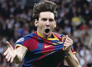Barcelona's Lionel Messi will be out to cut Manchester City down to size