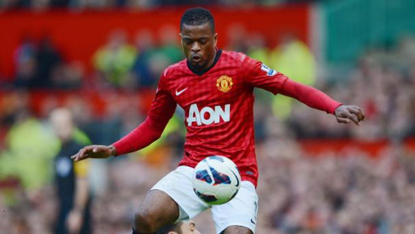 Patrice Evra current deal expires at the end of next season