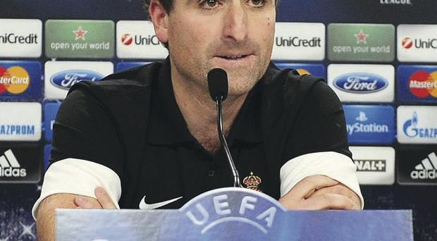 Real Sociedad coach Jagoba Arrasate last night insisted his team would not be frightened by Manchester United