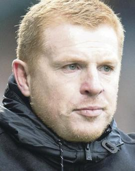 Tough task: Boss Neil Lennon admitted Celtic have it all to do