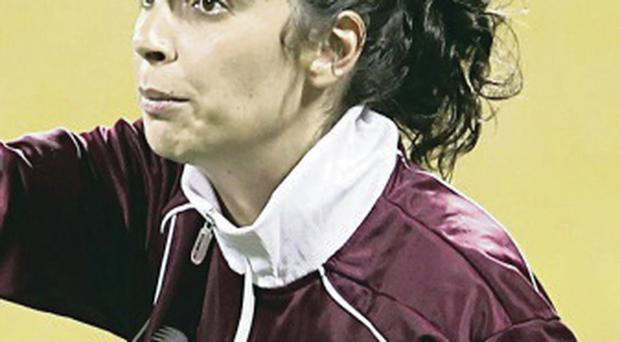 Taking charge: Helena Costa is new boss at Clermont Foot