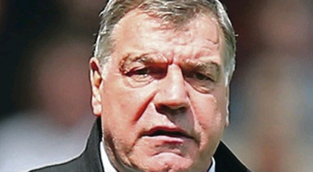 Let me entertain you: Sam Allardyce is staying put
