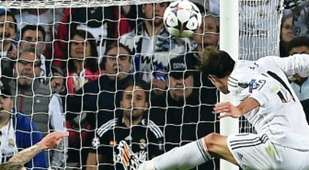 Key moment: Gareth Bale scores Real's second goal