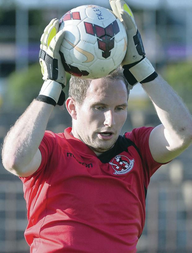Crusaders goalkeeper Sean O'Neill is set to host a three-day training camp for budding goalkeepers at Seaview.